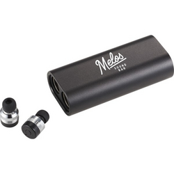 Metal True Wireless Earbuds and Powerbank