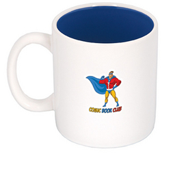 450 ML. (15 FL. OZ.) 'C' HANDLE TWO-TONE MUG