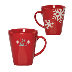 VINTER 350 ML. (12 FL. OZ.) SNOWFLAKE MUG