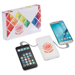 Spectro Power Bank with Full Color Wrap